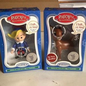 Other - 2 Rudolf figures that sing! 🎶